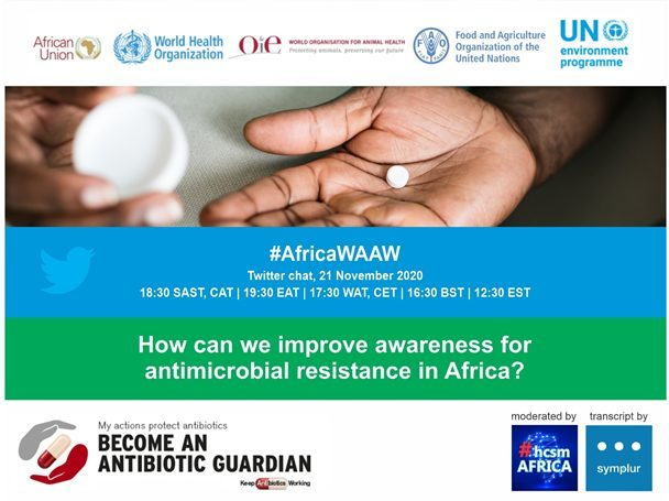 How can we improve awareness for antimicrobial resistance in Africa? – Africa CDC