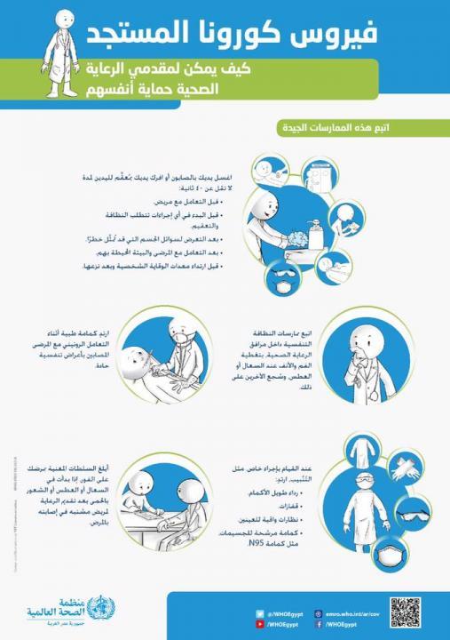 كيف يمكن لمقدمي الرعاية الصحية حماية... - World Health Organization Egypt | Facebook